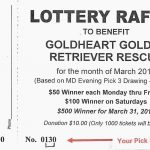 LOTTERY RAFFLE - GET YOUR TICKETS NOW!